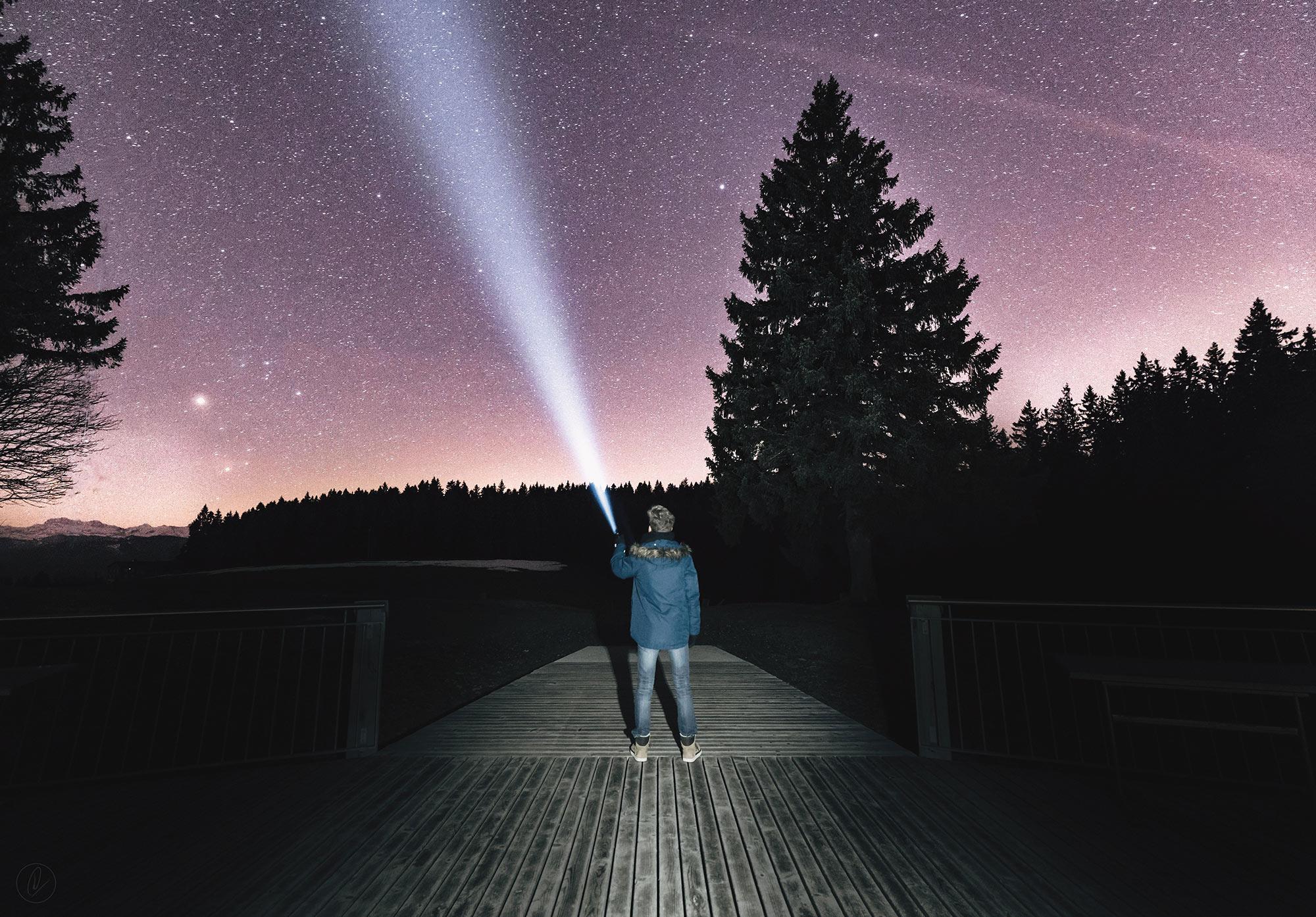 Digiscope in astronomy