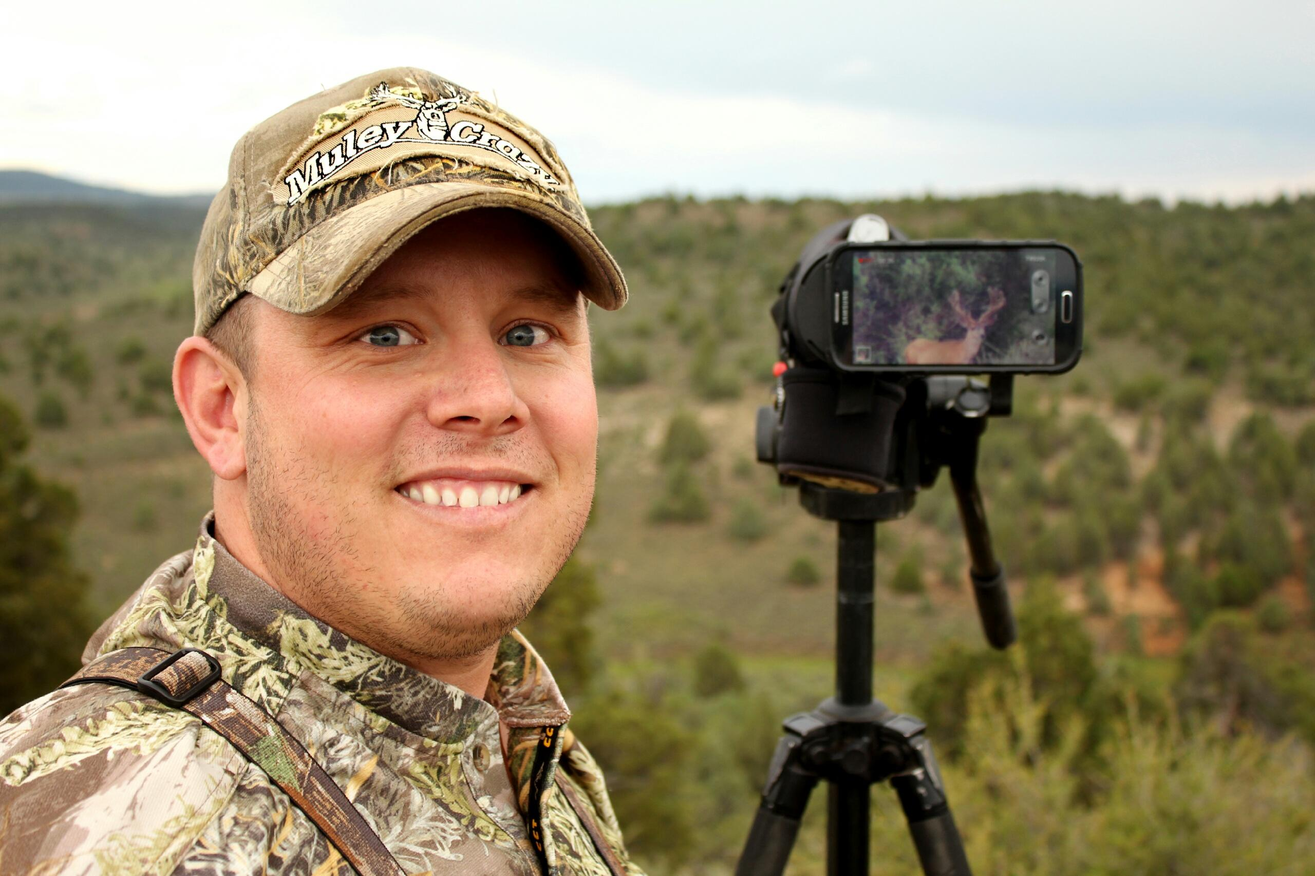 David Virostko Digiscoping mule deer
