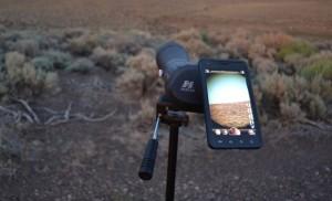 phoneskope digiscoping