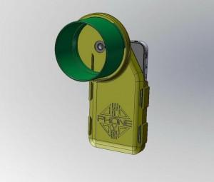 phoneskope attachment rendering