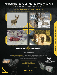 Digiscope Spotting scope giveaway