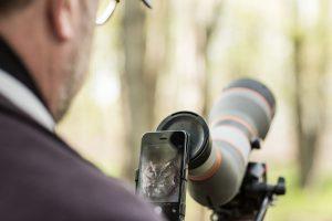 Phone Skope Birding with Digiscope