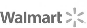 Walmart logo black & white