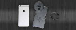 PhoneSkope Digiscope adapter & case for iPhone