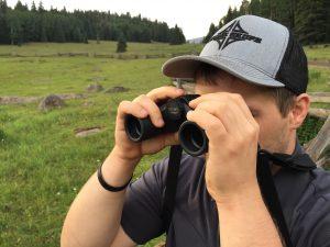 Spotting with the Opticron Savanna Binocular