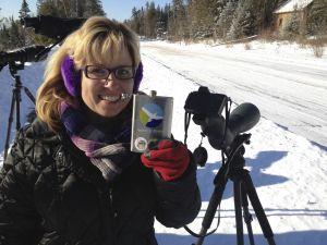 Christmas Birding and Digiscoping