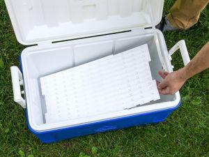Phone skope cooler tray
