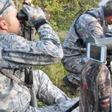 Digiscoping and binoculars
