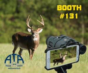 Phoneskope Digiscoping at 2018 ATA Trade Show