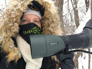 Digiscoping in the Winter