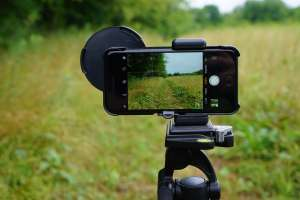 Phoneskope Phone tripod mount for digiscoping