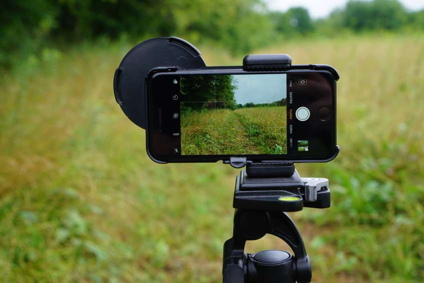 Phoneskope Phone tripod mount for digiscoping