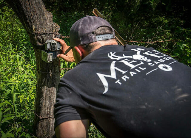 Digiscoping beats trail cameras because you don't leave scent where you hunt.