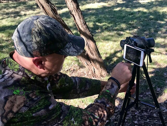 Digiscoping To Scout
