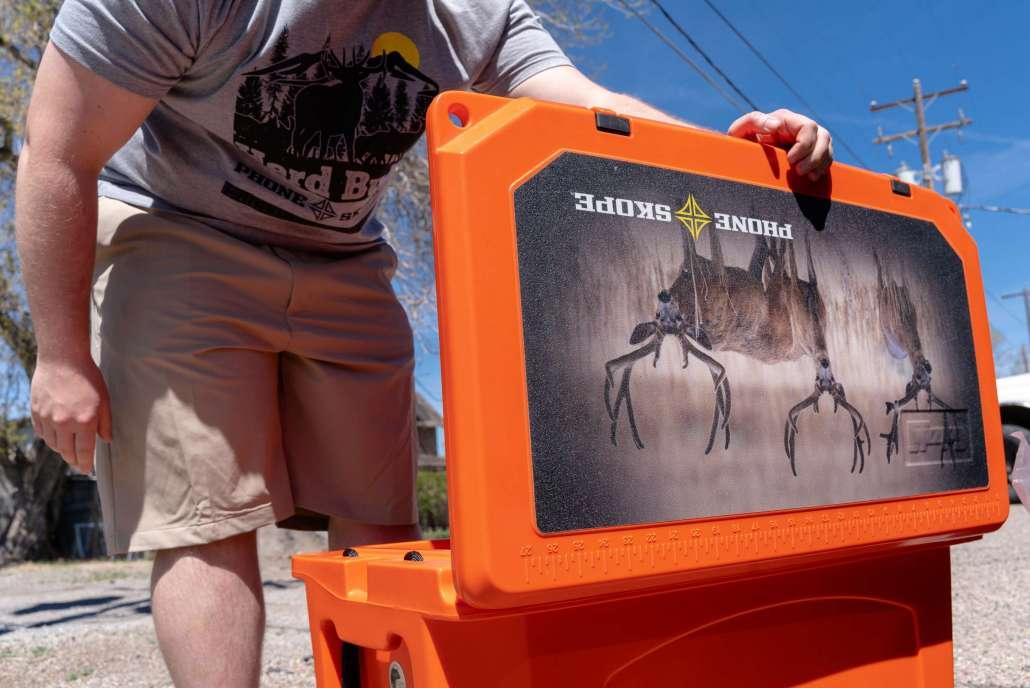 Custom Grizzly Cooler