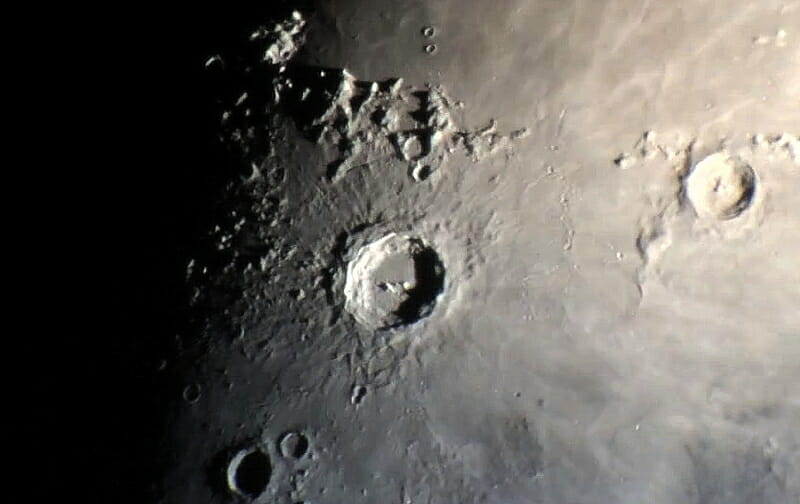 August Astronomy Events - Astroimaging - Mike Weasner - Moon photo